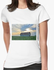 After Summer Rains Womens Fitted T-Shirt