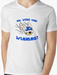 Blue Shell  Mens V-Neck T-Shirt