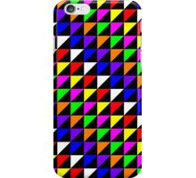 Triangle Repeated Colourful Pattern iPhone Case/Skin