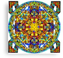Celtic Knots In Space Canvas Print