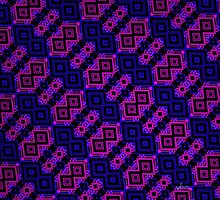 Abstract Design Pattern 535H by mandalafractal