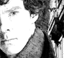 Sherlock Holmes/Benedict Cumberbatch Sticker