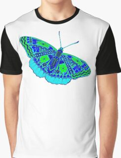butterfly with colored patterns Graphic T-Shirt
