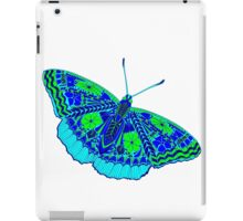 butterfly with colored patterns iPad Case/Skin