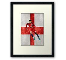 Dele Alli- England Framed Print