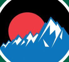 GLACIER BAY NATIONAL PARK ALASKA MOUNTAINS HIKING CAMPING HIKE CAMP Sticker