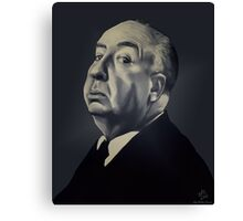 Presenting Alfred Hitchcock Canvas Print
