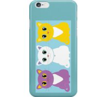 Only Three Cats iPhone Case/Skin