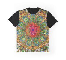 Graphic Fantasy With A Warm Heart Graphic T-Shirt