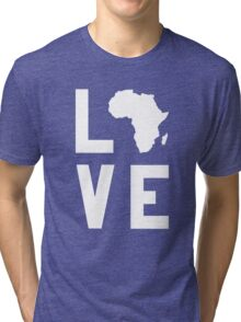 With Love from Africa Tri-blend T-Shirt