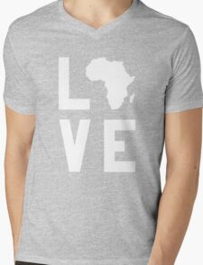 With Love from Africa Mens V-Neck T-Shirt