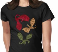 a dance with dragons Womens Fitted T-Shirt