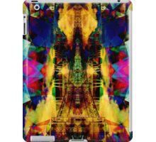 Eiffel Tower In Color iPad Case/Skin