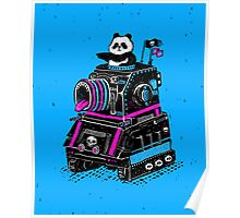 Panda's Skull Tank Poster