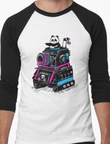 Panda's Skull Tank Men's Baseball ¾ T-Shirt