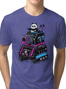 Panda's Skull Tank Tri-blend T-Shirt