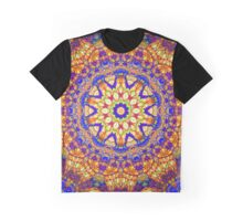 Tenth Mandala Of Life For A Rosy Spring Graphic T-Shirt