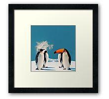 Pencan Animal Morph Framed Print