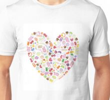 Sweetheart papercut Unisex T-Shirt