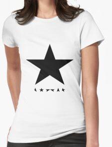 David Bowie - Blackstar tribute Womens Fitted T-Shirt