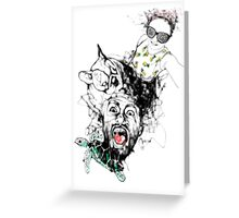 Guess Who's Back! Greeting Card