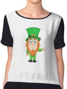 Gravity Falls style Leprechaun Chiffon Top
