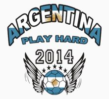 World Cup 2014:Team  Argentina Play Hard by seazerka