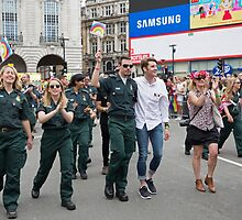 Pride in London Parade  by Keith Larby