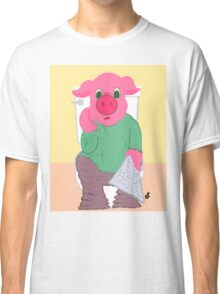 Pig on the Hopper Classic T-Shirt