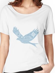 Freedom of Life - Bird Women's Relaxed Fit T-Shirt