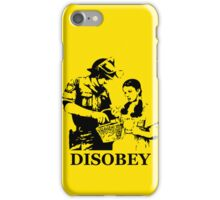 Disobey Search iPhone Case/Skin