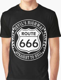 Route 666 Graphic T-Shirt
