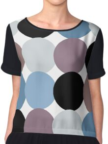 Retro Classic Oldstyle Pattern inspired by 50s, 60s, 70s ( luxury edition ) Chiffon Top