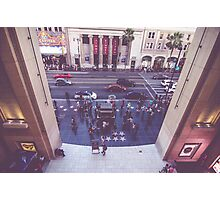 Hollywood Blvd Jimmy Kimmel Live  Photographic Print