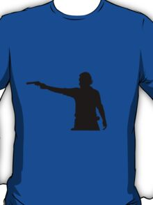 Rick Grimes Aiming Revolver T-Shirt