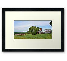 Summer Abandonment Panorama Framed Print