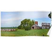 Summer Abandonment Panorama Poster