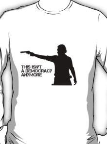 Rick Grimes - This Isn't a Democracy T-Shirt