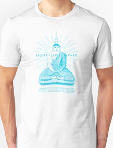 Buddha Light Love Power Unisex T-Shirt