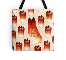 Thai Tea Fox Tote Bag