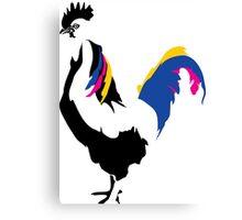 rooster cockerel cock chicken Canvas Print