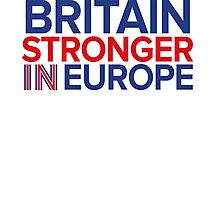 Britain Stronger in Europe Photographic Print