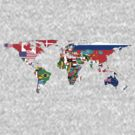 The World Flag Map by cadellin