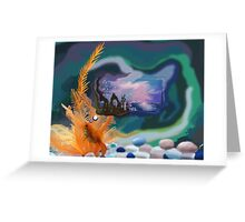 Thought Gold Fish Greeting Card