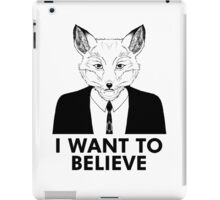 My name is Fox iPad Case/Skin