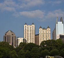 Atlanta skyline from Piedmont park by KSKphotography