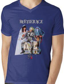 Beetlejuice Mens V-Neck T-Shirt