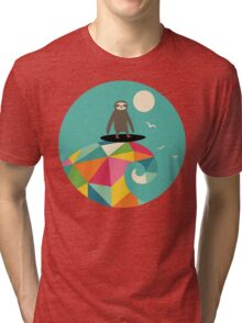 Surfs Up Tri-blend T-Shirt