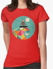 Surfs Up Womens Fitted T-Shirt