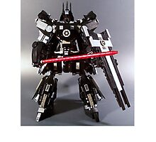 Lego Darth Vader's TIE Advanced Mobile Suit Photographic Print